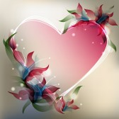 12157683-background-with-transparent-gradient-stylized-flowers-and-heart-shape