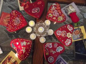 mini retreat heart mandala Feb.15.14