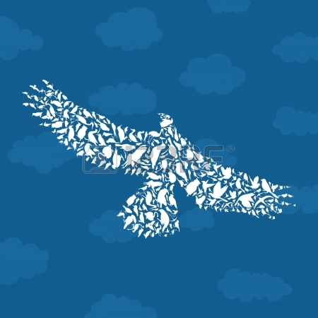 18876077-bird-an-eagle-in-the-sky-a-illustration