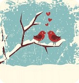 15568605-illustration-of-two-cute-birds-in-love-at-winter-time