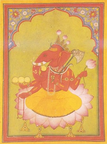 Ganesha_Basohli_miniature_circa_1730_Dubost_p73